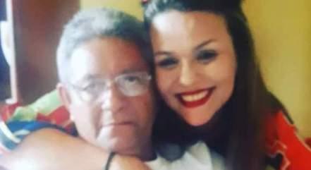 Viviane perdeu o pai por conta da covid-19 e afirma que o luto está sendo muito doloroso