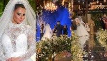Viviane Araújo eGuilherme Militão se casam no Rio de Janeiro