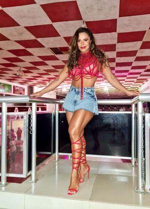 """Viviane Araujo também vai participar da """"Superdança"""" do """"Faustão"""""""