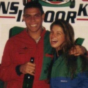 Ronaldo e Viviane Brunieri