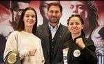Viviane Obenauf, boxe