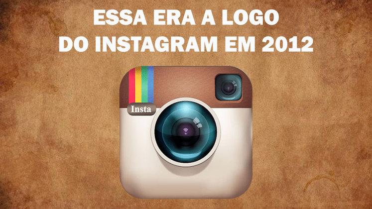 Você lembra dessa logo antiga do Instagram?
