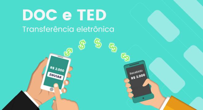 Você sabe a diferença entre a transferência DOC e TED?
