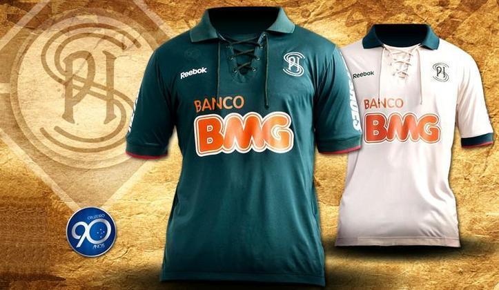 Você sabia que o Cruzeiro também já se chamou Palestra Itália? O monograma dos anos 20 e 30, quando o clube ainda se chamava assim, foi utilizado na camisa 3 de 2011.