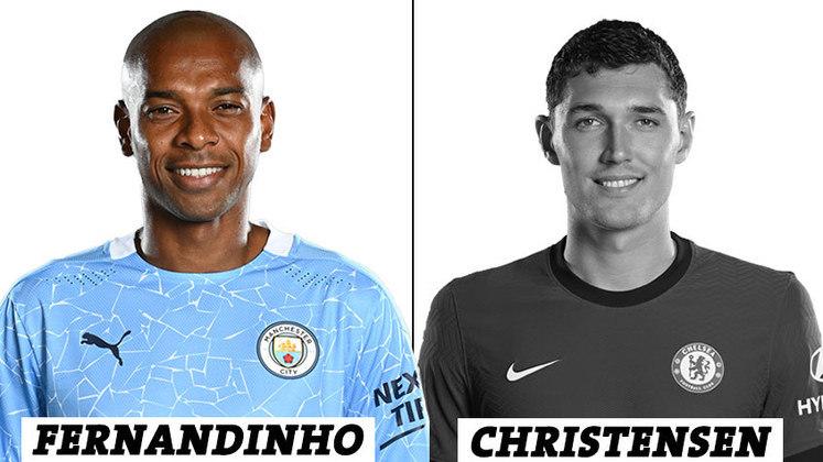 VOLANTE: 15 votos para Fernandinho; 0 voto para Christensen.