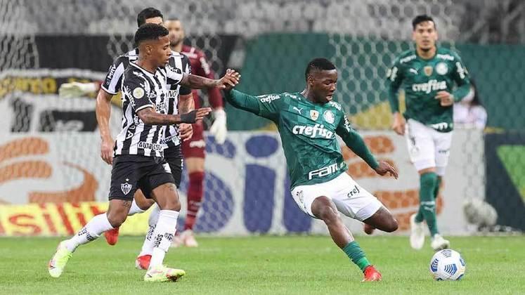 Volante: Patrick de Paula (Palmeiras) - 12 milhões de euros (R$ 75,6 milhões) / Thiago Maia (Flamengo) - 3 milhões de euros (R$ 18,9 milhões).