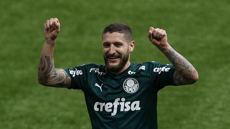 Volante: Zé Rafael (Palmeiras) - 4 milhões de euros (R$ 25,2 milhões) / Diego (Flamengo) - 1,3 milhão de euros (R$ 8,2 milhões).