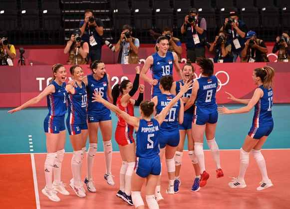 VÔLEI - A medalha de bronze ficou com a Sérvia, que venceu a Coreia do Sul na disputa pelo terceiro lugar no pódio.
