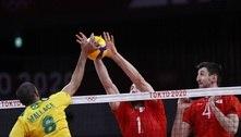 Vôlei: seleção masculina perde para Rússia e vai disputar o bronze