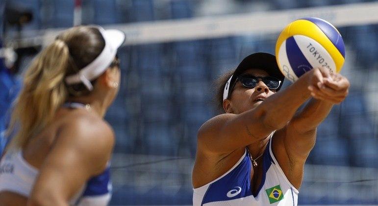 Ana Patricia e Rebecca perdem para suíças e dão adeus aos Jogos Olímpicos