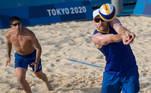 No vôlei de praia tem dobradinha de Brasil x Argentina: a seleção masculina joga às 22h e a feminina às 23h