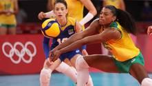 Com a prata, Fê Garay eCamila Brait dão adeus à seleção de vôlei