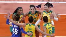 Tóquio: Brasil bate Japão e engata 3ª vitória seguida no vôlei feminino