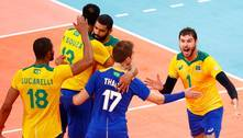 Seleção masculina de vôlei vence a França no 5º set e vai às quartas