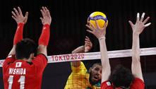 Seleção masculina de vôlei bate o Japão e fará revanche com a Rússia