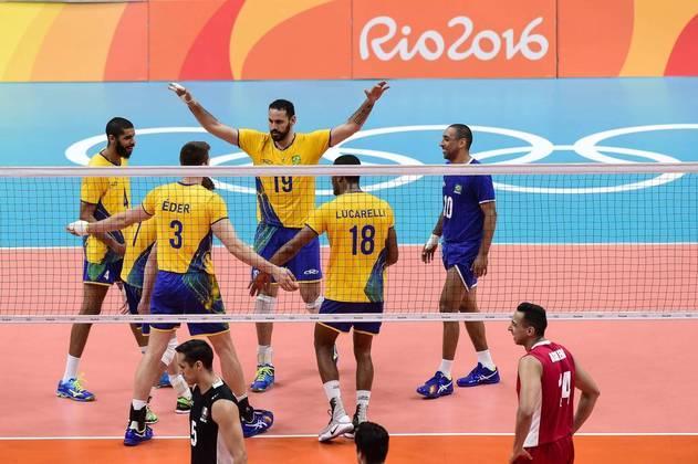 Nas Olimpíadas do Rio 2016, a seleção masculina ficou com a medalha de ouro