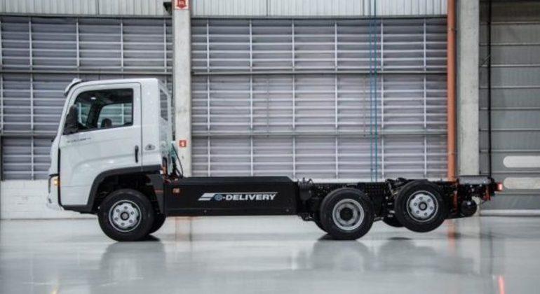Em carga lenta o e-Delivery pode ser reabastecido em 3 horas