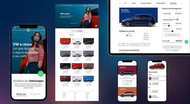 É possível simular o financiamento pelo Volkswagen Financial Services