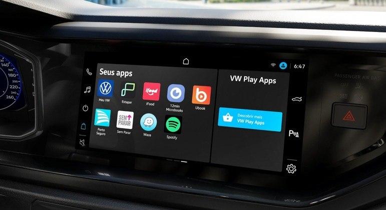 """VW Play foi totalmente desenvolvida no Brasil e tem tela de 10,1"""""""