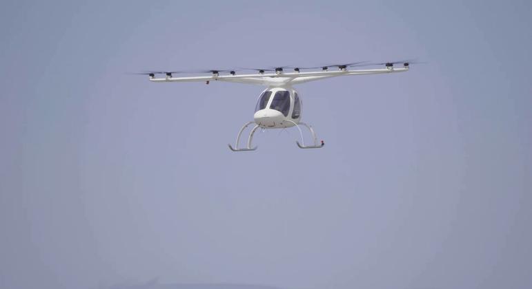 Volocopter quer trazer esse tipo de veículo para a Região Parisiense
