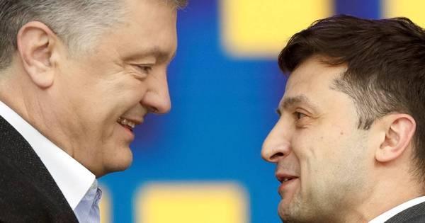 Candidatos à Presidência da Ucrânia trocam insultos em debate final