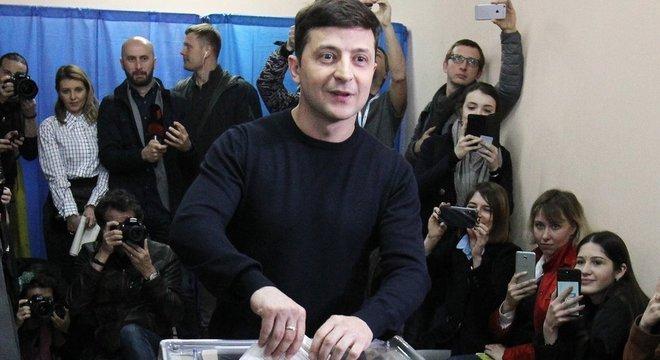 Volodymyr Zelensky, por enquanto, tem se mantido em silêncio sobre o episódio