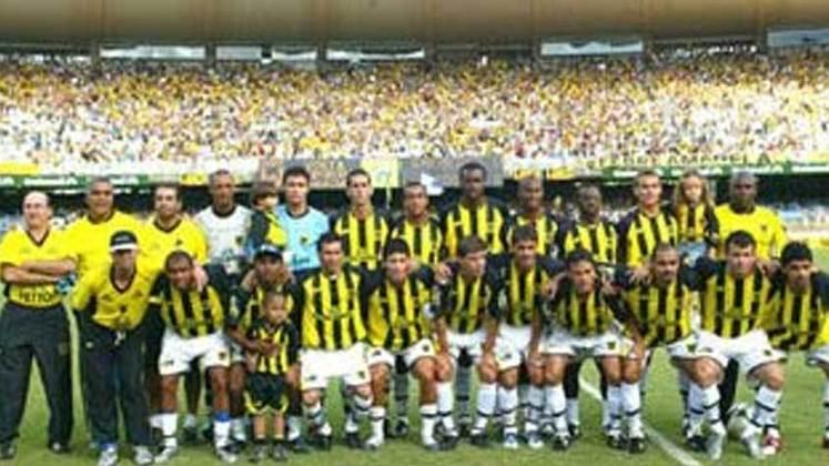 Volta Redonda: vice em 2005.