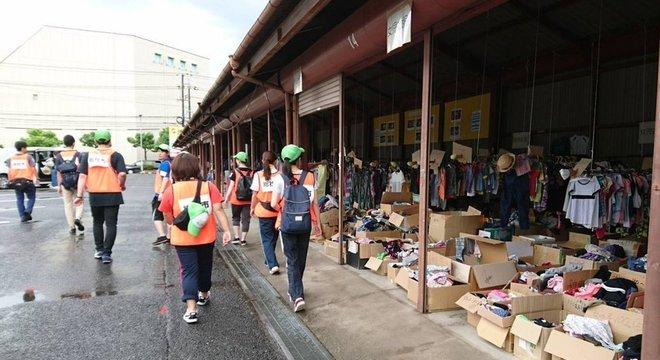 Prefeitura de Soja recebe mil pessoas por dia buscando doações