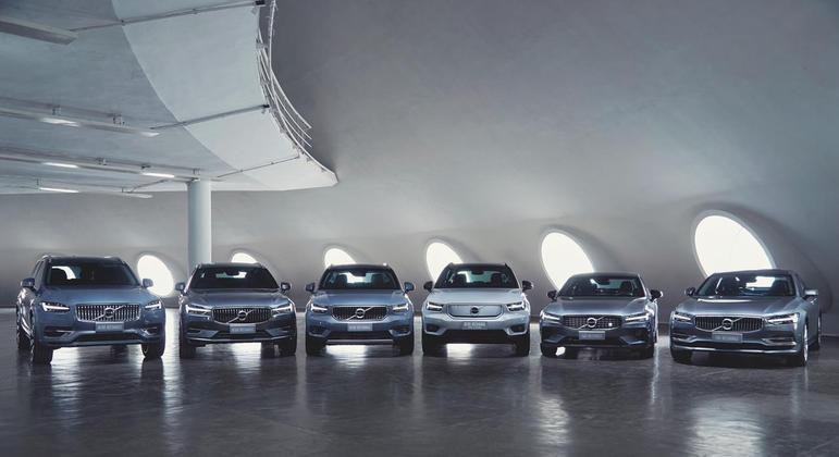 A Volvo tem motivos para comemorar, com 3.874 unidades vendidas no primeiro semestre