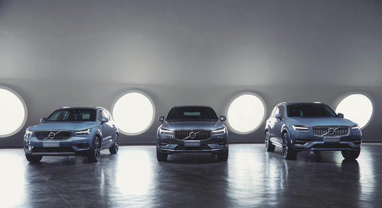 Entre os modelos híbridos plug-in, a Volvo detém 69,8% dentre todas as marcas do Brasil