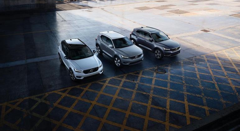 A Volvo acaba de anunciar duas novas versões híbridas para o SUV premium XC40