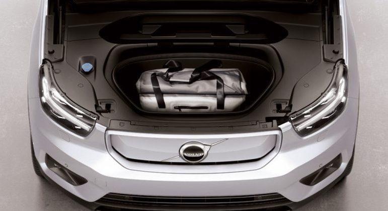 SUV tem um compartimento dianteiro com 31 litros