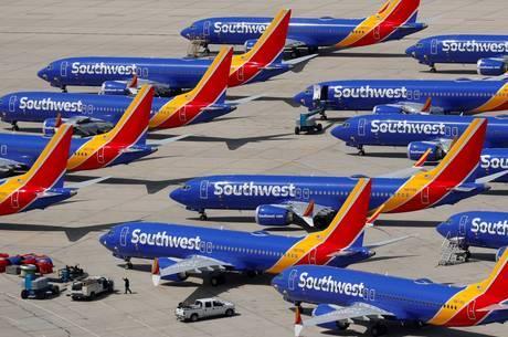 Southwest Airlines reportou 400 atrasos em voos