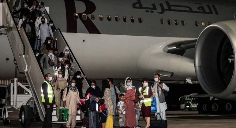 120 mil pessoas foram retiradas do Afeganistão nos últimos 45 dias