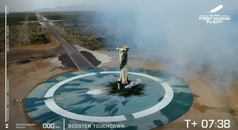 O propulsor desenvolvido pela Blue Origin pode ser reutilizado em outros lançamentos