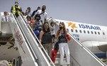 A companhia aérea prevê de dois a três voos comerciais entre a capital dos países por semana