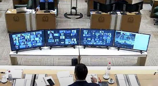 Em sessão virtual, deputados estaduais votam contra o lockdown em SP