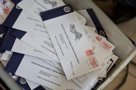 Milhões de americanos votaram por carta