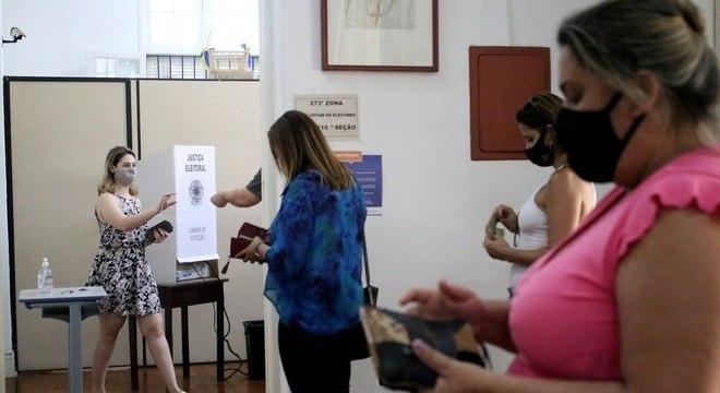 Votação em Santos (SP)