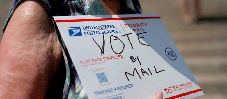 Mais de 70 milhões de pessoas nos EUA votaram antecipadamente e por correio
