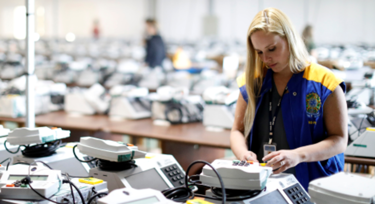 Urna eletrônica na discussão sobre o voto impresso