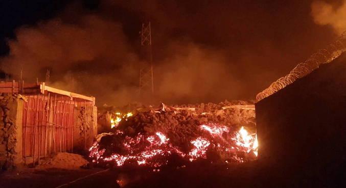 Erupção deixou 5 mortos no Congo