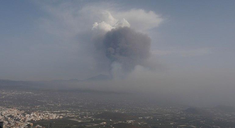 Cinzas tóxicas podem se acumular em áreas mais baixas