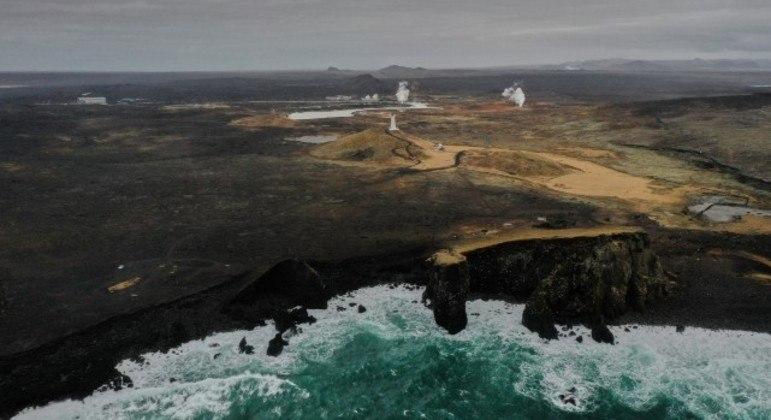 Cientistas buscam entender possível erupção em área vulcânica