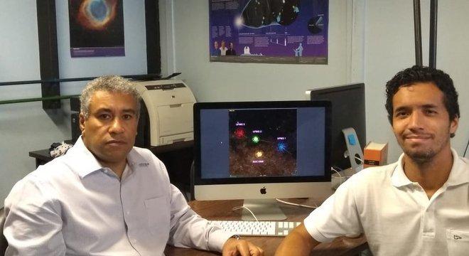 O professor da UFMG Wagner Corradi e o doutorando Filipe Ferreira assinam, com outros três pesquisadores, artigo publicado na revista científica inglesa Monthly Notices of the Royal Astronomical Society