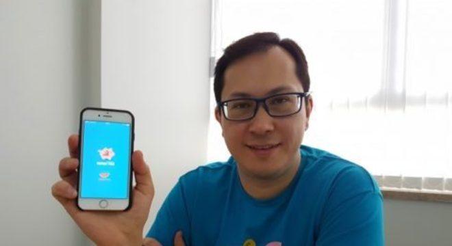 Wagner, fundador do app Renda Fixa