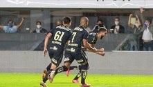 Santos vence com gol no finalzinho, deixa o Z4 e afunda o Grêmio
