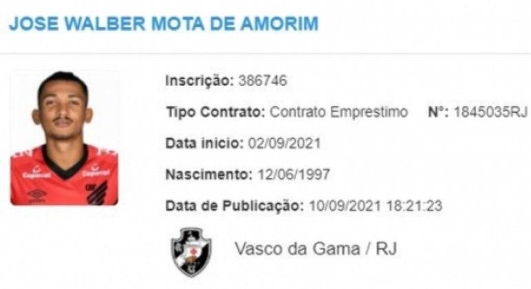 Walber - Vasco - BID