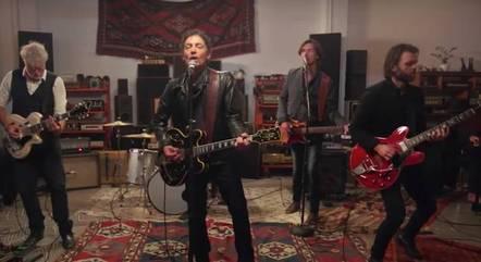 Jakob Dylan e a formação atual do Wallflowers