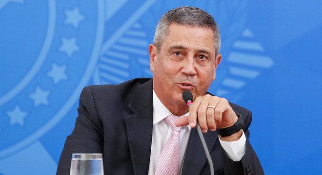 Braga Netto, miinstro-chefe da Casa Civil